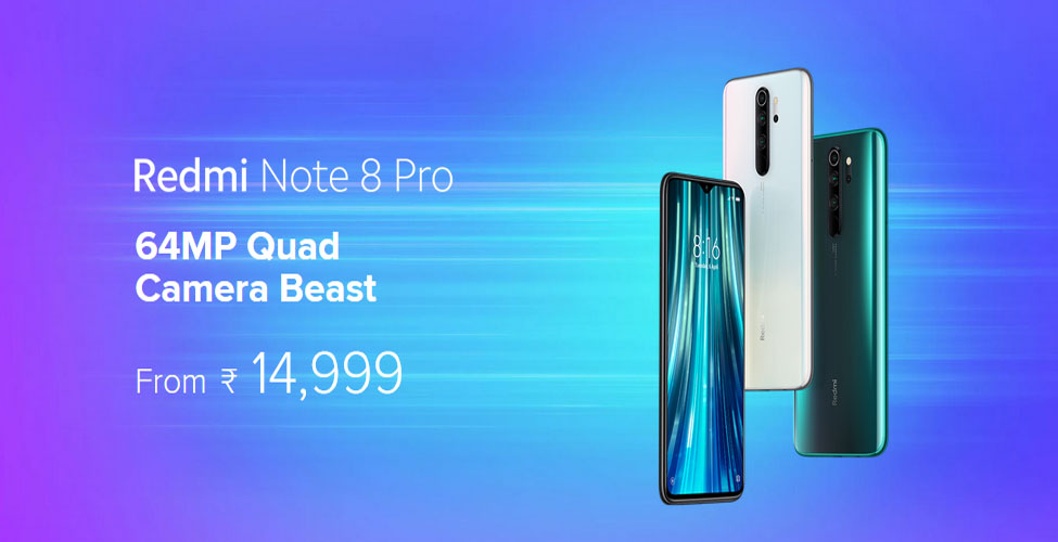 Redmi Note 8 Pro Smartphone and Specifications
